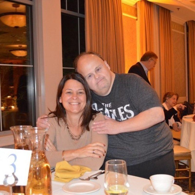 bridgewell client embracing Kelly Martin